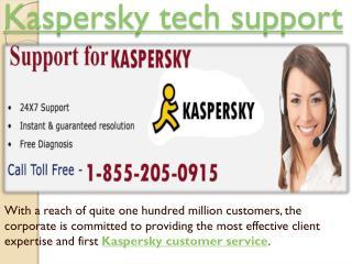 Call 1-855-205-0915 Kaspersky Phone Support Customer Service