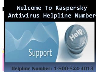 1-800-824-4013 Kaspersky Antivirus Helpline Number | Kaspers