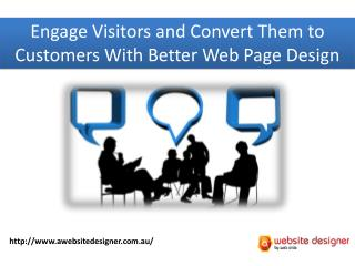 How to Engage Visitors to a Sale with Better Web Page Design