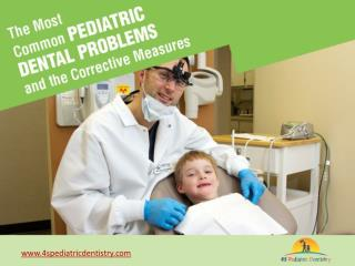 Pediatric Dentist in San Diego to Treat Kid's Oral Problems