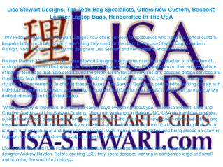 Lisa Stewart Designs, The Tech Bag Specialists