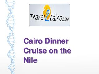 Cairo Dinner Cruise on the Nile