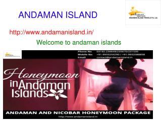 andaman and nicobar honeymoon package