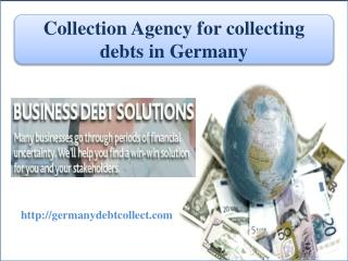 Collecting debts in germany