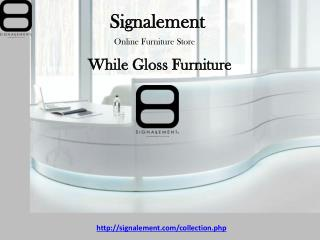 White Gloss Furniture