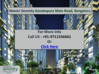 Mantri Serenity Bangalore