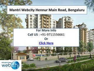 Mantri Webcity Bengaluru
