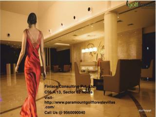 Paramount Villas Noida Call@ 9560090040