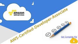 AWS Devloper Practice Test