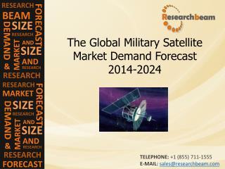 The Global Military Satellite Market Demand Forecast 2014-24