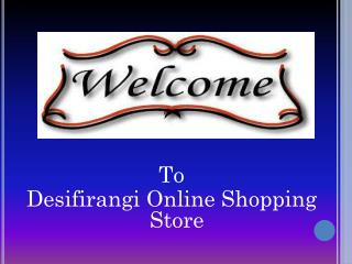 Desifirangi Online Shopping Store for Bridal Lingerie