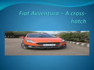 Fiat Avventura  in India
