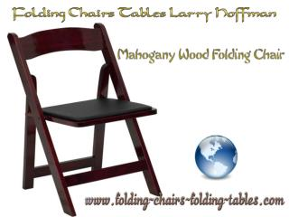 Folding Chairs Tables Larry Hoffman - Wood Folding Chairs