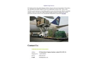 Fnglobal Cargo Services