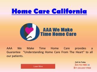24/7 Home Care California