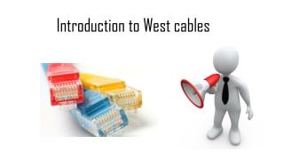 Westcables coaxial cable