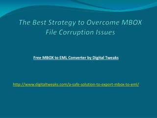 Maibox to Outlook Express Conversion