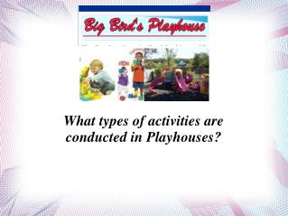 Big Bird Playhouse – Renowned Playhouse in Staten Island