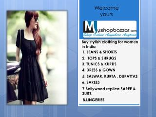 Buy stylish clothing for women in India