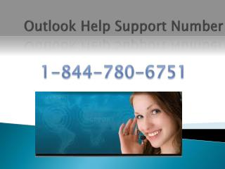 USA Toll Free **1-844-780-6751 Outlook Tech Support Number