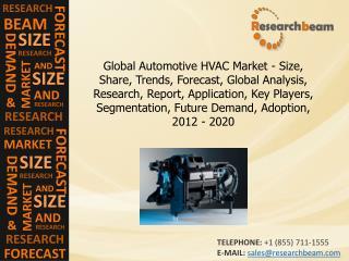 Global Automotive HVAC Market Size, Share, 2012-2020
