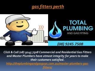 Gas Fitters Perth