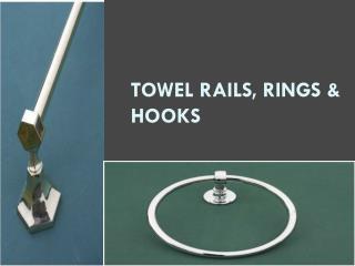 Towel Rails, Rings & Hooks