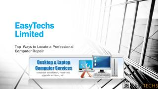 Top Ways to Locate a Professional Computer Repair