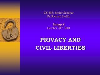 CS 495: Senior Seminar