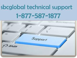 sbcglobal technical support 1-877-587-1877 number