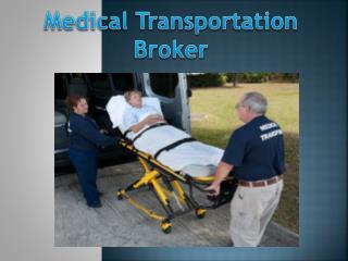 Non Emergency Medical Transpotation