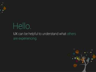 UX design Guide