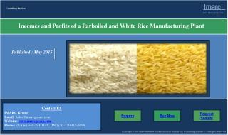 Parboiled White Rice Manufacturing Plant | Income, Demand