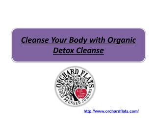Cleanse Your Body with Organic Detox Cleanse