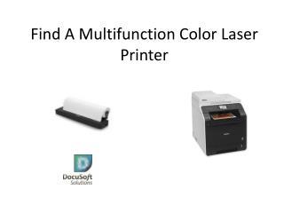 Find A Multifunction Color Laser Printer