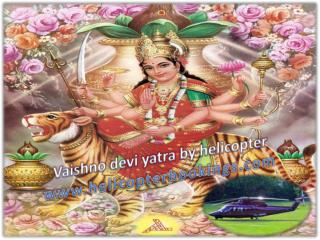 helicopter booking for vaishno devi