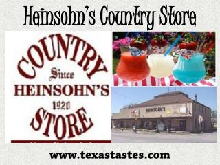 Heinsohn's Country Store – A top most company provides all t