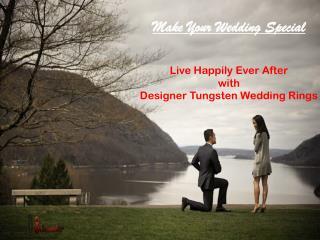 Tungsten Wedding Rings - Tungsten Jeweler