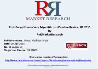 Post-Polycythemia Vera Myelofibrosis Pipeline Review, H1 201