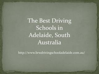 Best Driving Schools in Adelaide