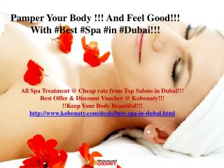 Best Spa in dubai