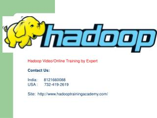 Best Hadoop Online Training