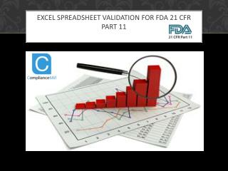 Excel Spreadsheet Validation for FDA 21 CFR Part 11