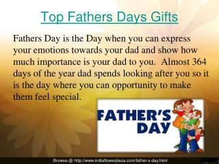 Fathers day's Gift online