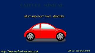 catford minicab & Taxis