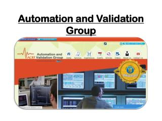 Automation & Valiadtion Group