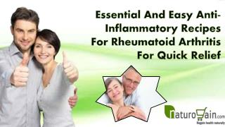 Essential And Easy Anti-Inflammatory Recipes For Rheumatoid