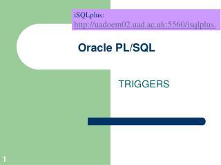 Oracle PL