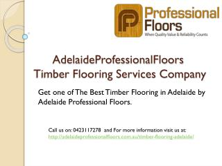Best Timber Flooring in Adelaide