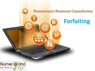 Best Forfaiting Services Provide by Numerouno Business Consu